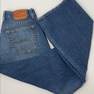 Lucky Brand easy rider button fly size 6 jeans
